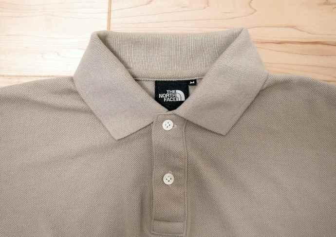 ノースフェイスの半袖ポロシャツ