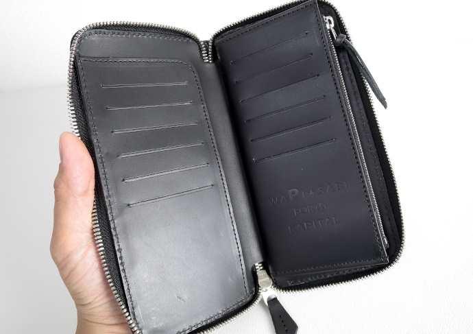 キャピタルカントリー襤褸財布の内側