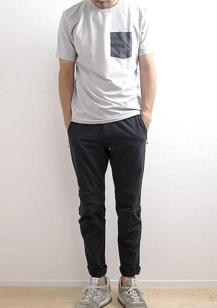 アークテリクス アンゾ Tシャツのサイズ感