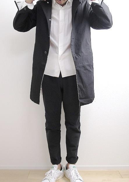 EEL Sakura Coatの着こなし
