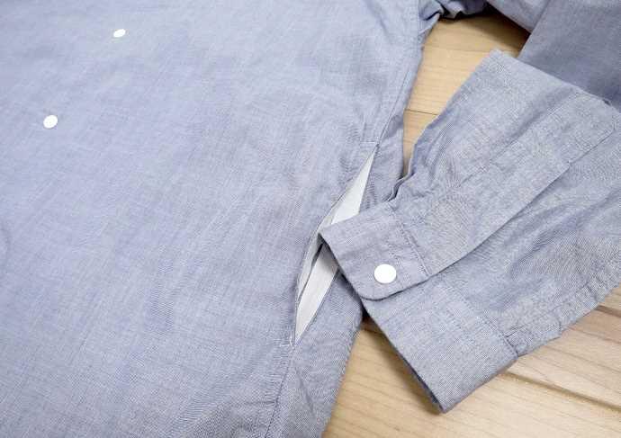 ヤエカ コンフォートシャツ ポケット