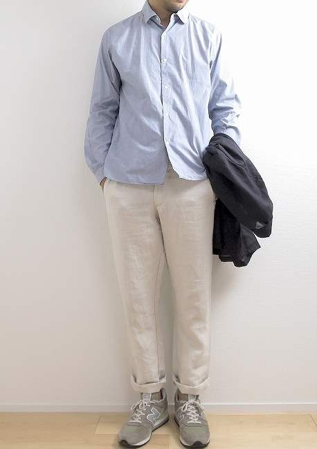 YAECA コンフォートシャツのサイズ感