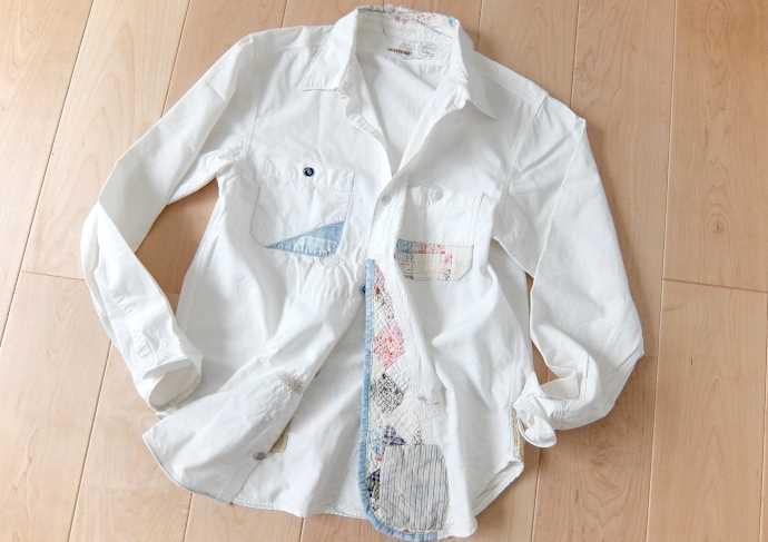 キャピタルカントリーの白シャツ