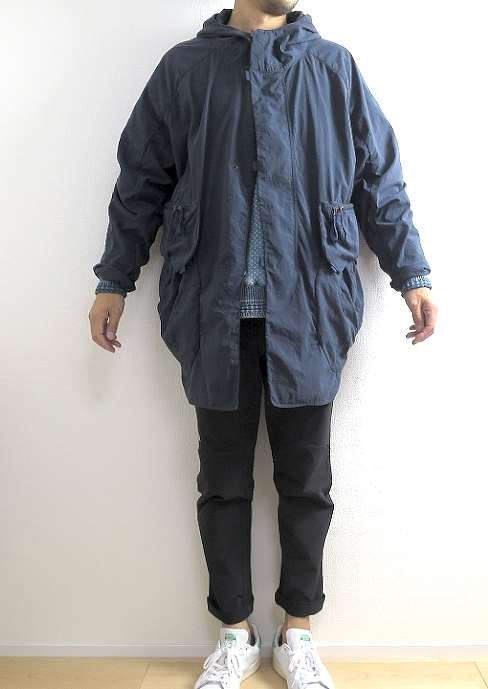 alk phenix Shu Coat Garment Dye