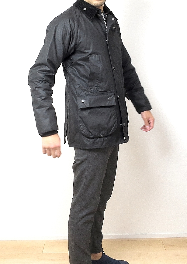Barbour BEDALE SL のサイズ感
