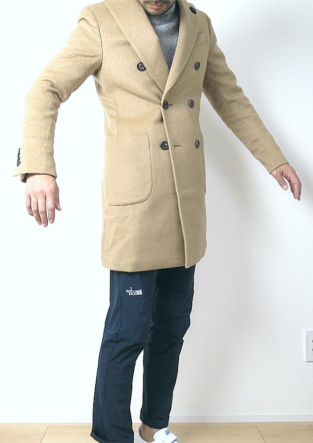 ラルディーニ コートの着こなし
