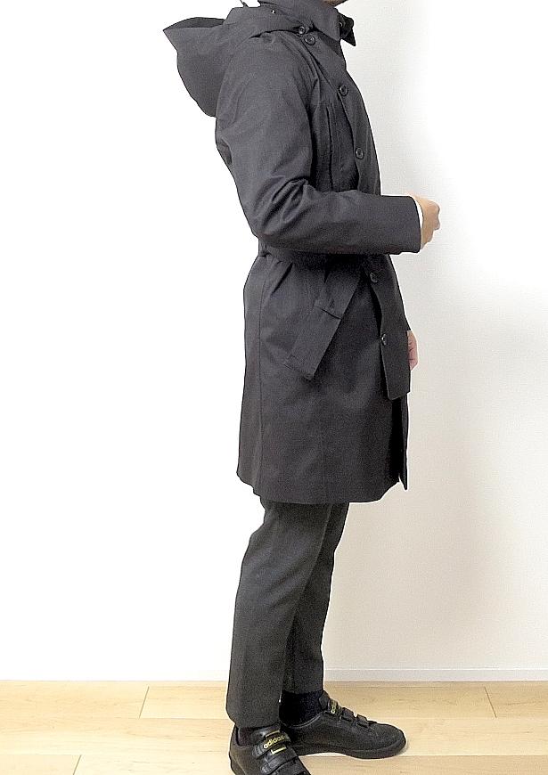 ノルウェージャンレインのコートの完璧さ