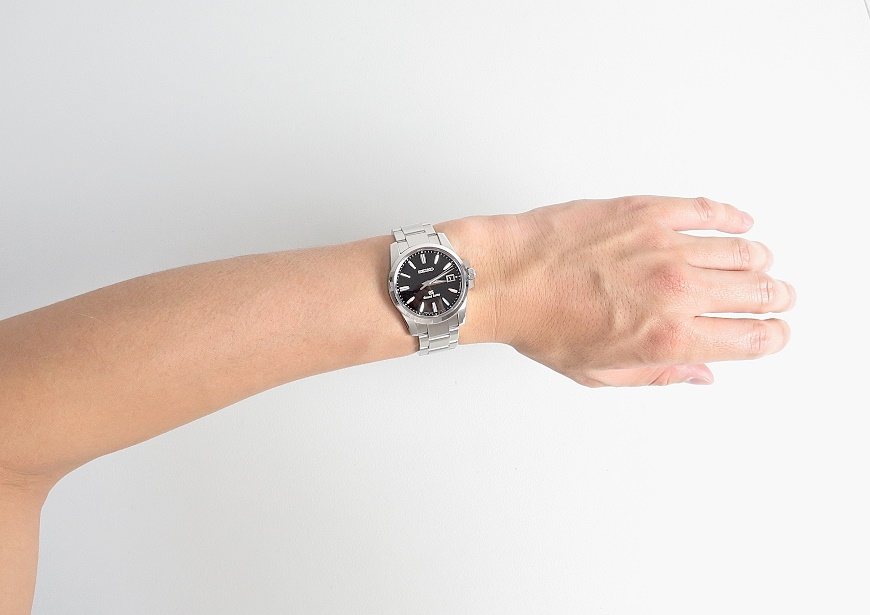 Grand Seiko SBGX055のサイズ感