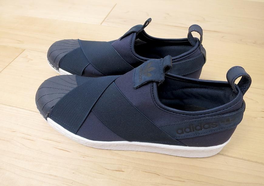 adidas スーパースター スリッポンのサイズ感