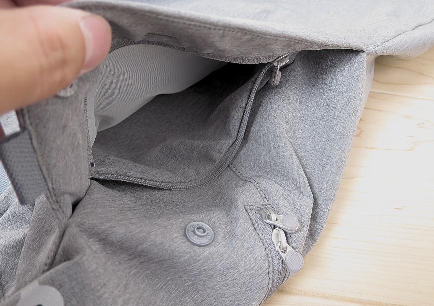アルクフェニックスの隠しポケット