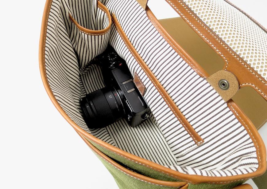 土屋鞄 カメラ散歩バッグ レザーショルダーの大きさ