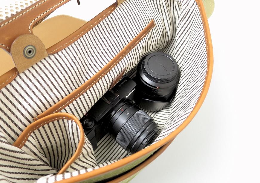 土屋鞄 キャンバス ショルダーの容量