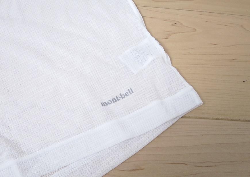 mont-bell モンベル ジオライン クールメッシュ アンダーシャツのロゴ